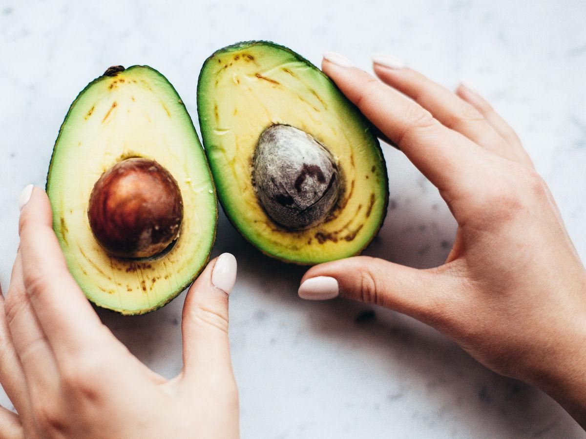 Punkte braune avocado hat Tropenland
