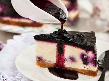 Low Carb Blueberry Cheescake