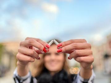 Rauchen aufhören | 5 kleine Tricks um das Gewicht zu halten